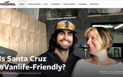 Is Santa Cruz #Vanlife-Friendly? Levity Vans in the Good Times